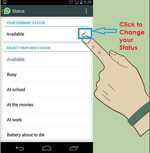 Change Whatsapp Status #whatsapp | DP for Whatsapp | Phone