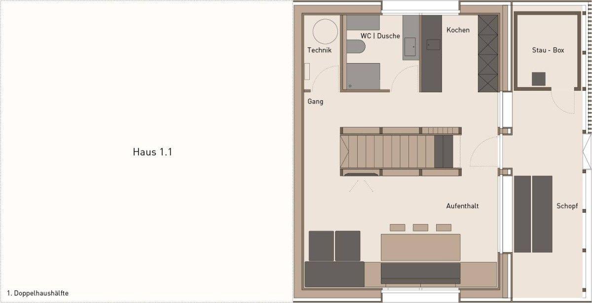 Johannes Kaufmann Architektur . Doppelhaus ISLEN . Mellau (29)