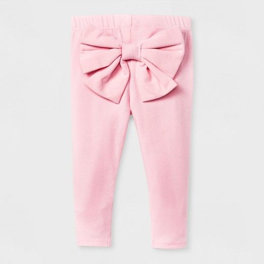 5a80ac401 W17 | Pink Bow-Bum Legging | Cat & Jack | $6.99 | Cat & Jack Baby ...
