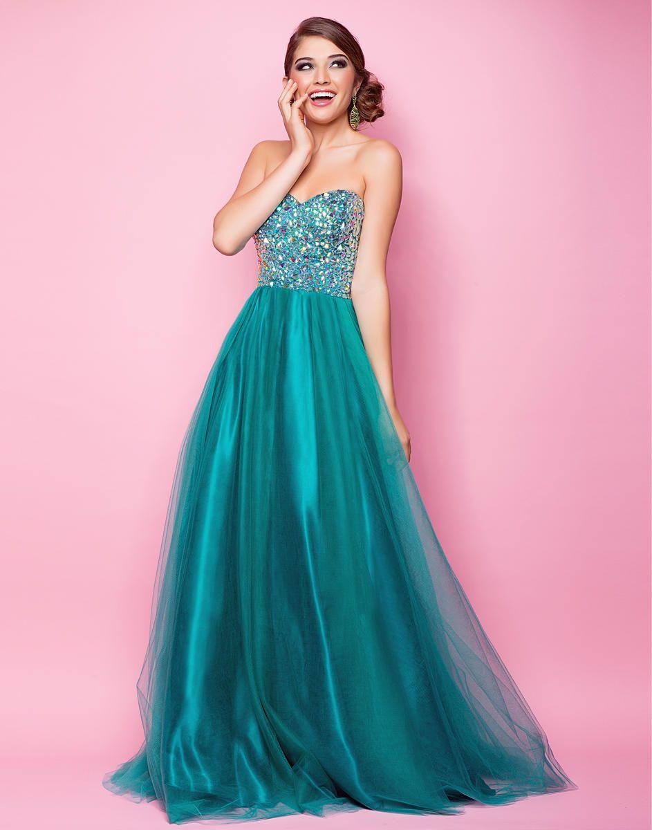 Asombroso Prom Vestido Azul Ideas Ornamento Elaboración Festooning ...