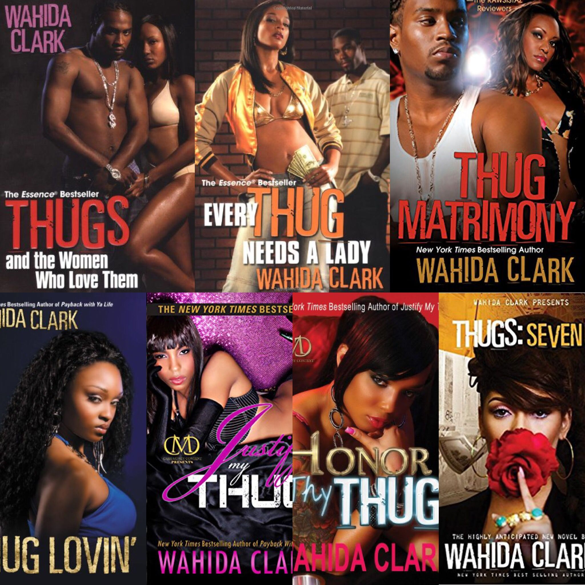 Thug Series: Wahida Clark | Music book, Bestselling author, Book worms