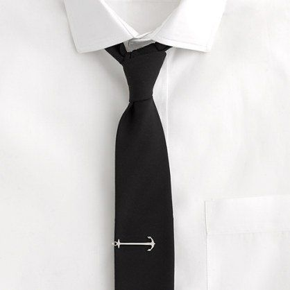 Fancy - Anchor Tie Bar by J.Crew