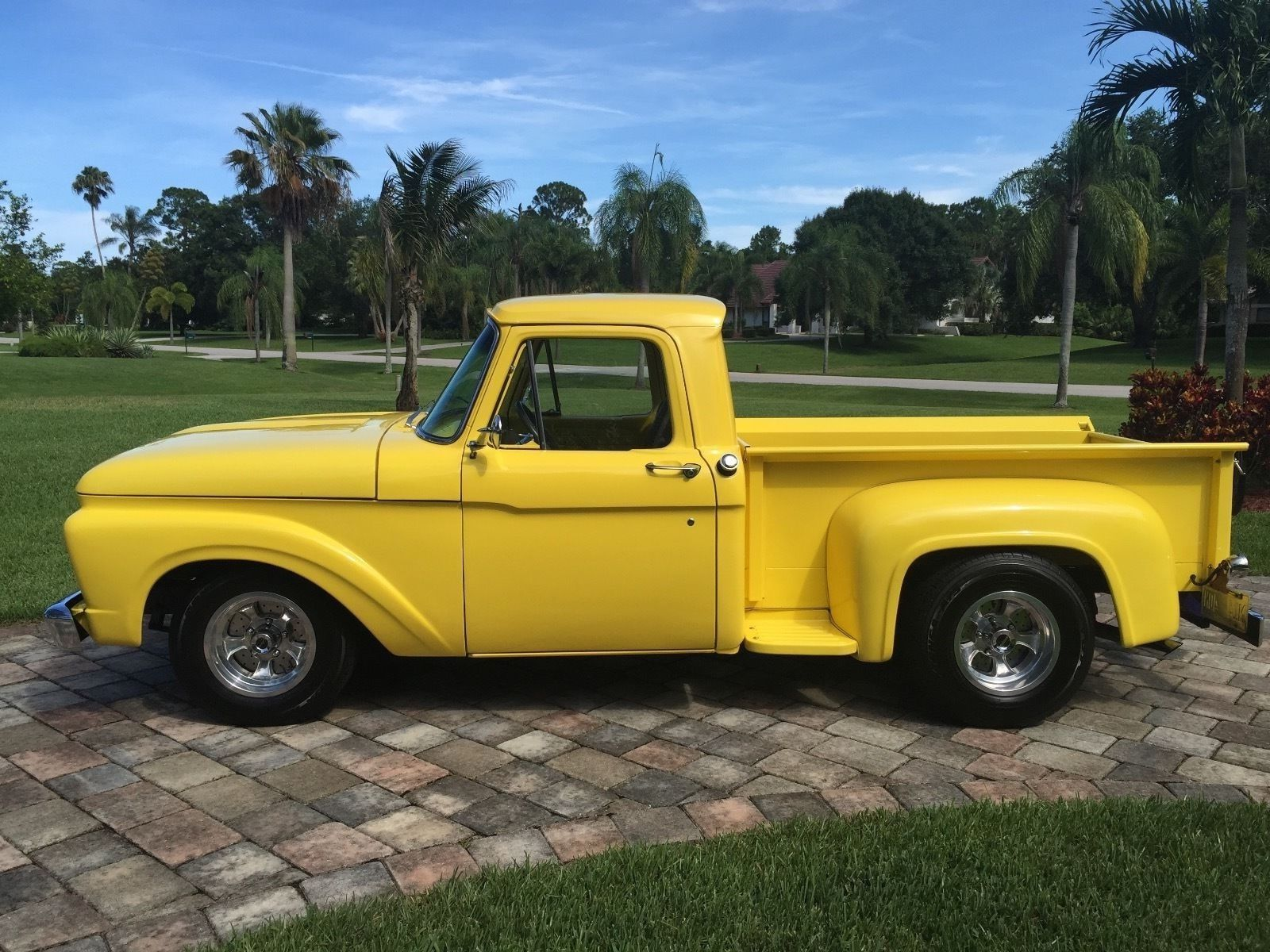 Ford F 100 Step Side 2 Door Truck Ford Trucks Old Ford Trucks Cars Trucks