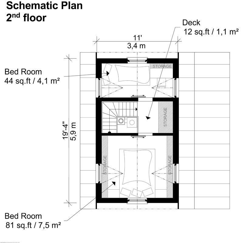 Small Two Story House Plans Judy (With images) Two story
