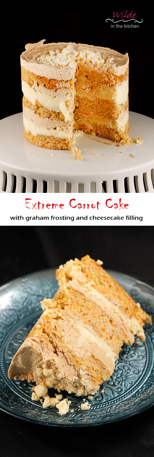 "Wilde in the Kitchen: Over the Top Carrot Cake (from ""Momofuku Milk Bar"" by Christina Tossi"