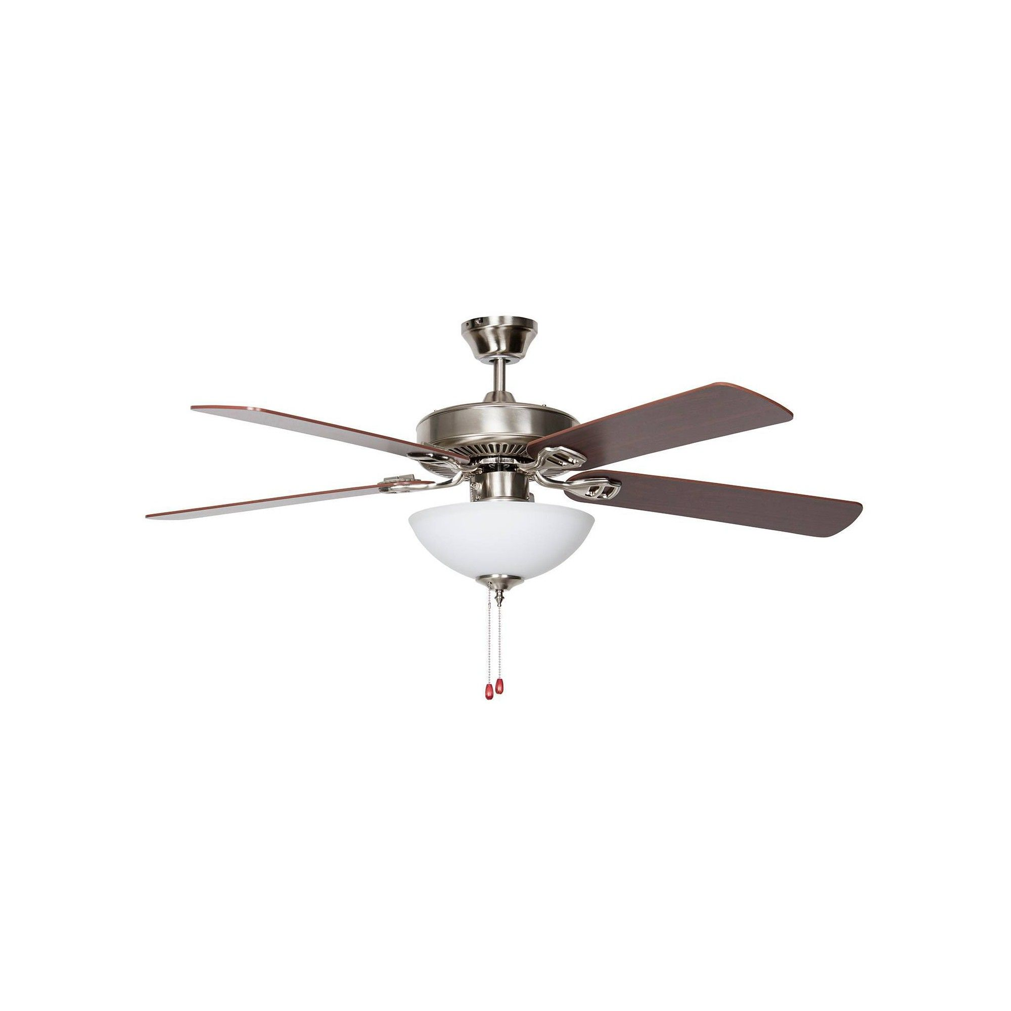 50 Heritage Square Easy Hang Ceiling Fan Stainless Steel