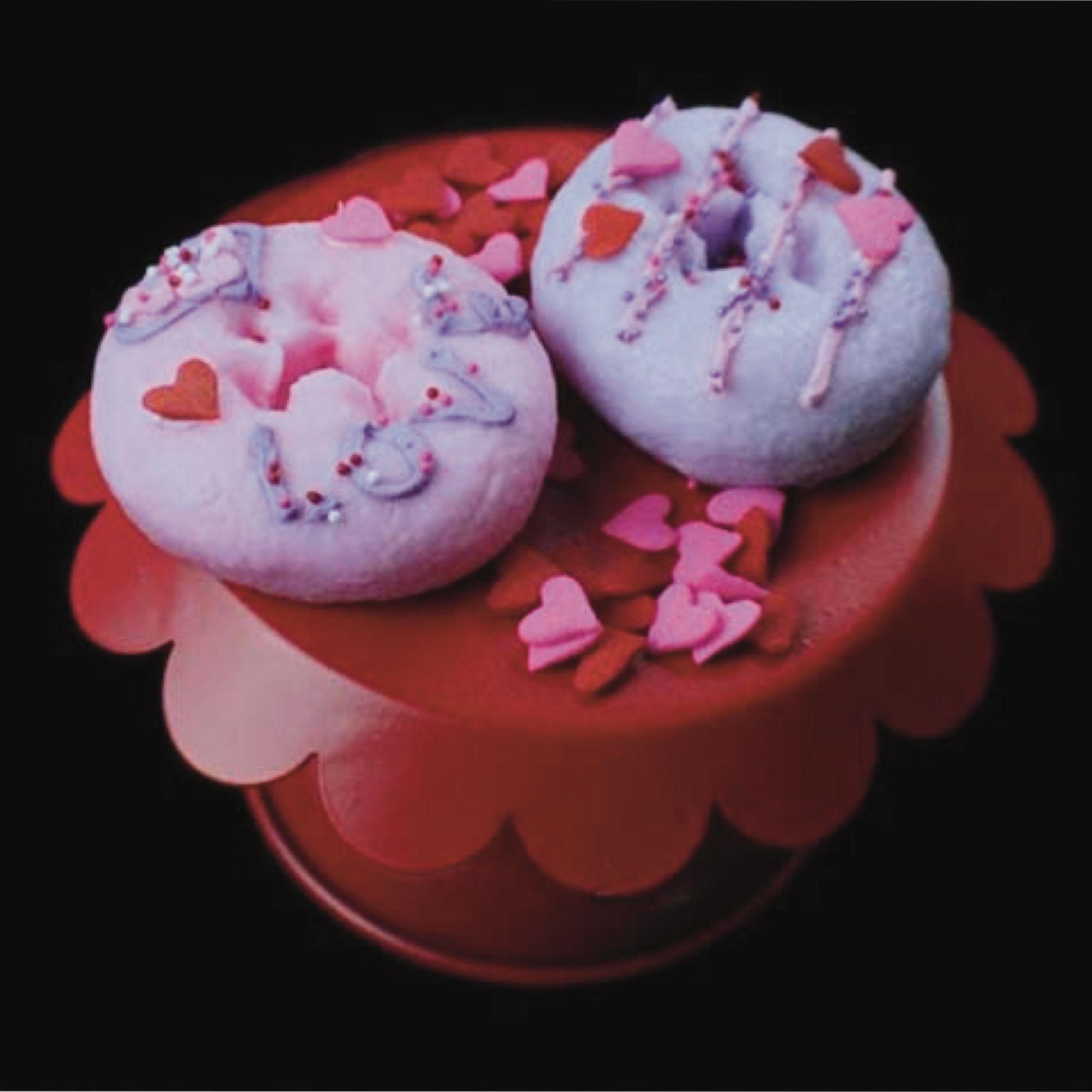 Valentine's Day Donut Set of 2