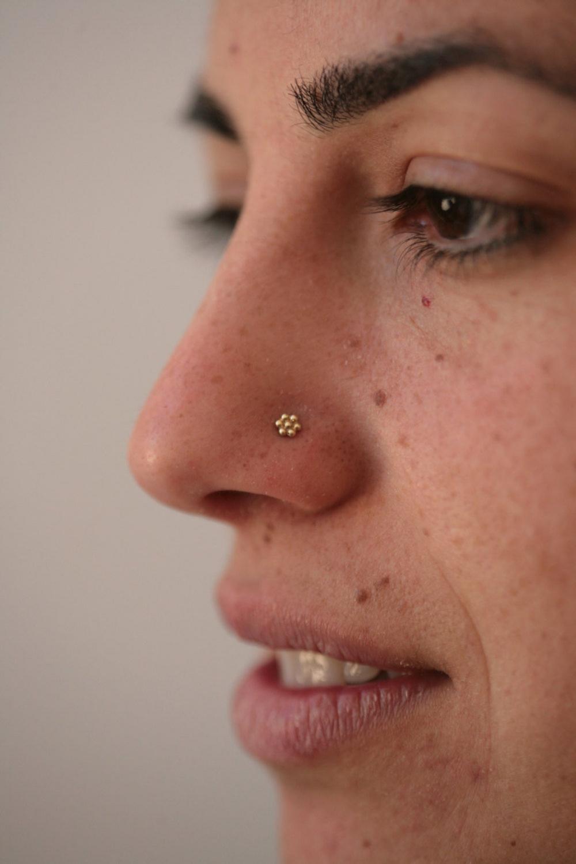 Indian Nose Stud Gold Nose Ring Black Nose Stud Indian Nose Ring Mother Day Sale