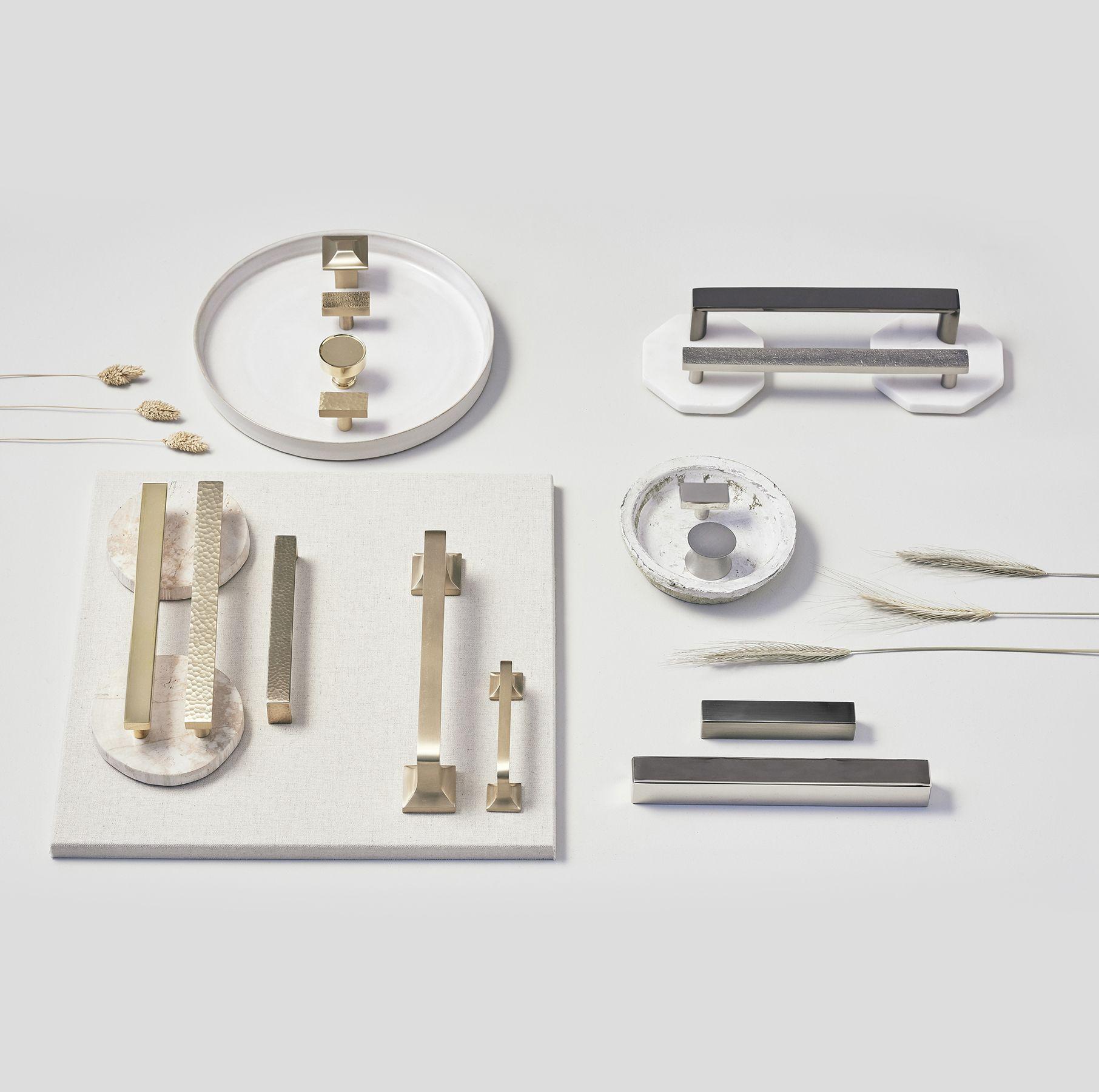 Update Your Kitchen Or Bath With Modern Brass Cabinet Hardware