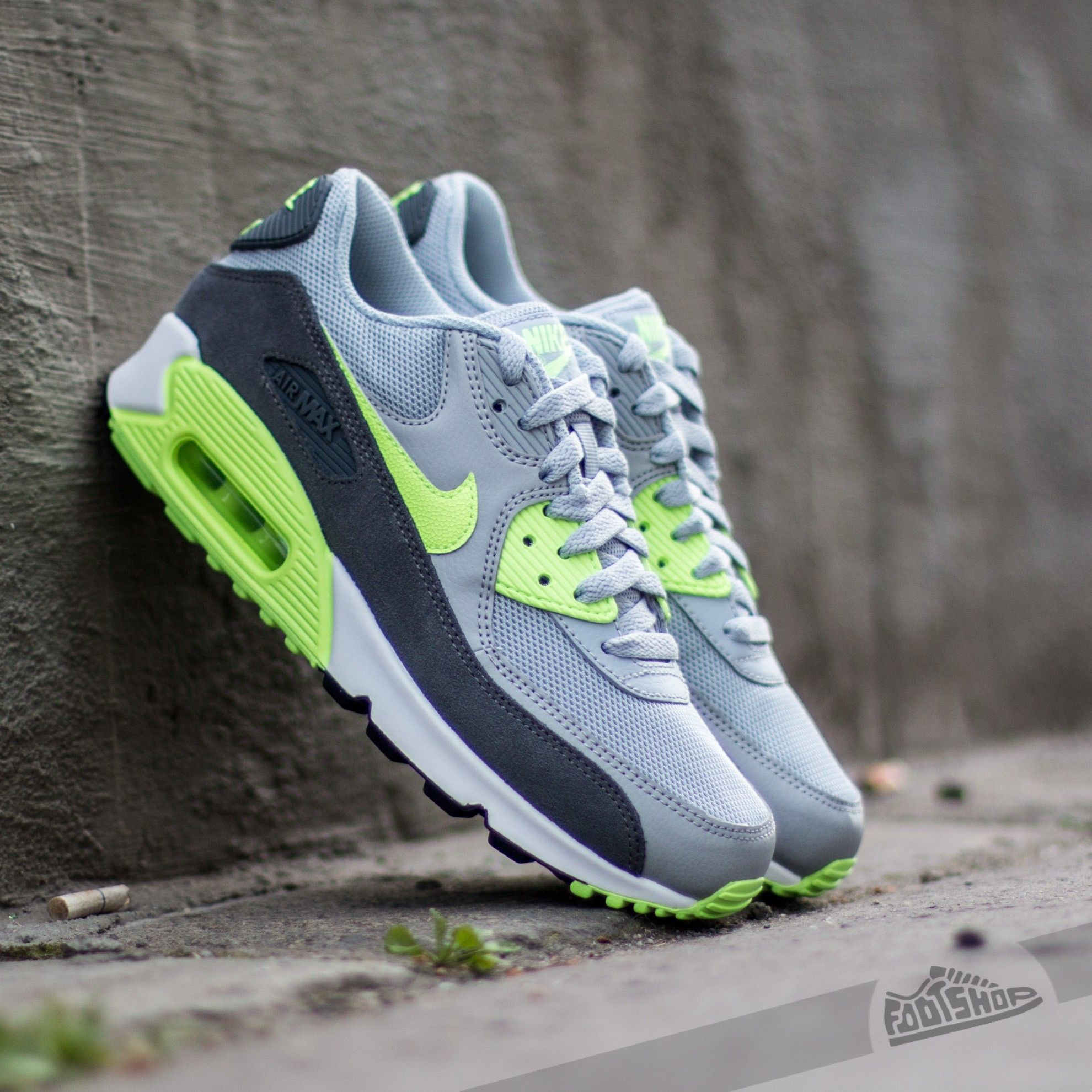 outlet store 401aa 8a8b6 Nike Air Max 90 Essential - Wolf Grey x Ghost Green x Dark Grey x White