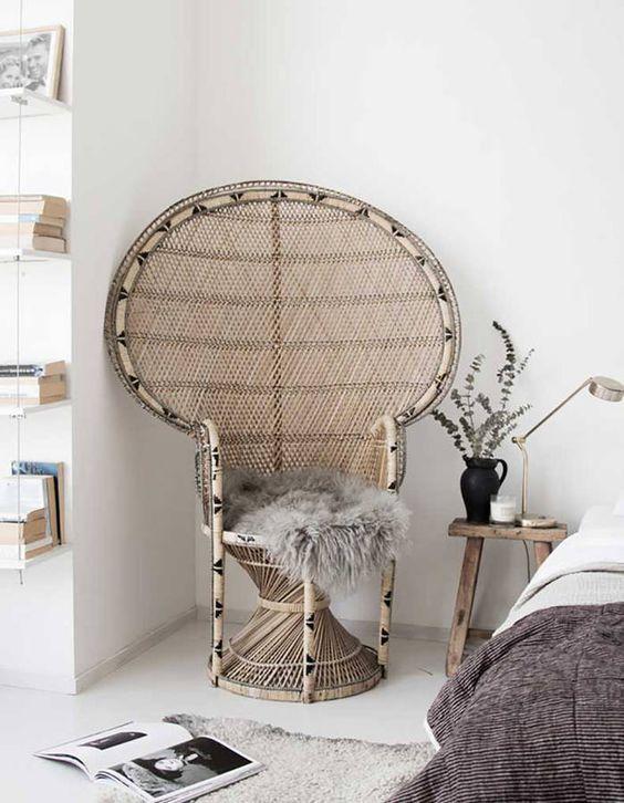 Le fauteuil Emmanuelle, star de la déco Pinterest