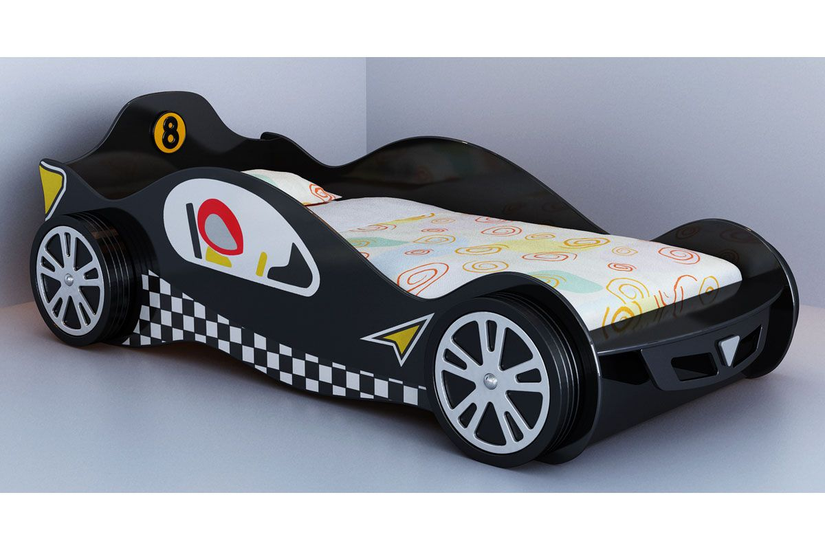 Childrens Black Mclaren F1 Racing Car Bed Frame | Misc | Pinterest ...
