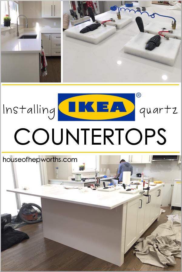 Installing Ikea Quartz Countertops Frosty Carrina House Of