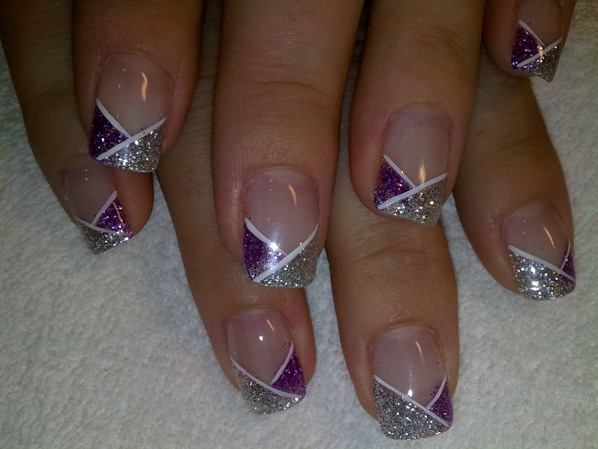 Gel nail art. I think I'll do this next