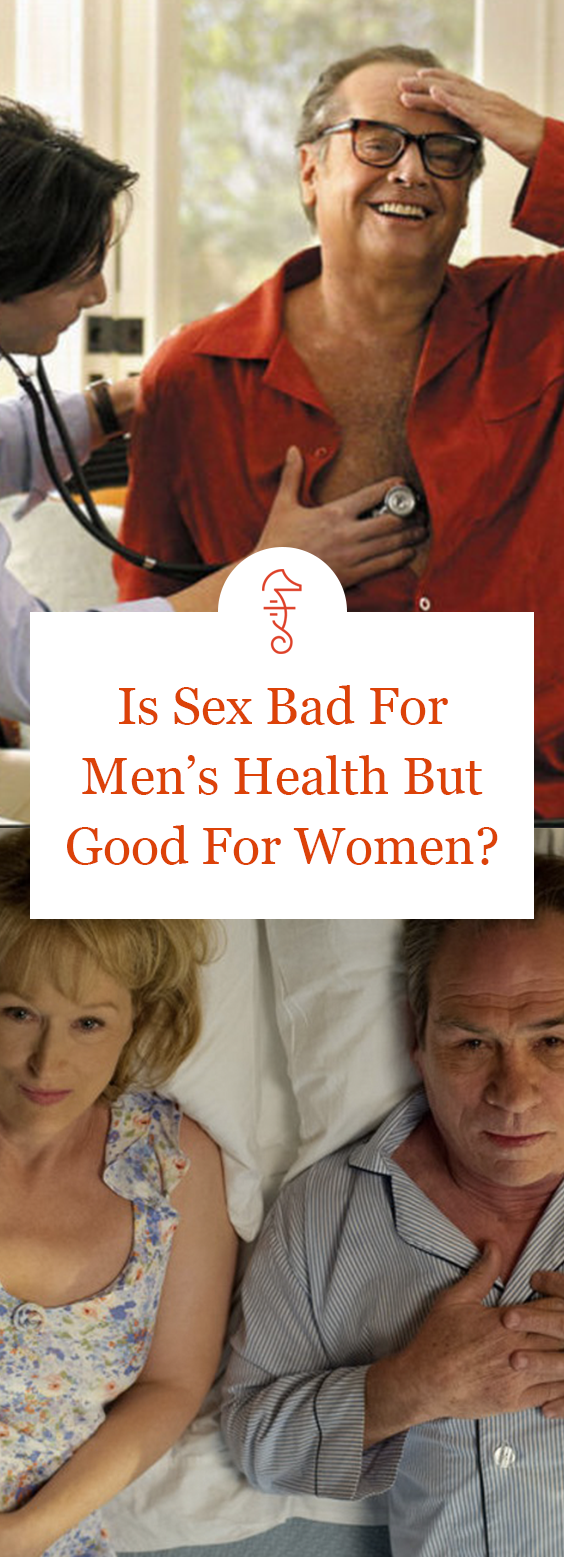 Is Sex Bad For Men's Health But Good For Women? via @FatherlyHQ
