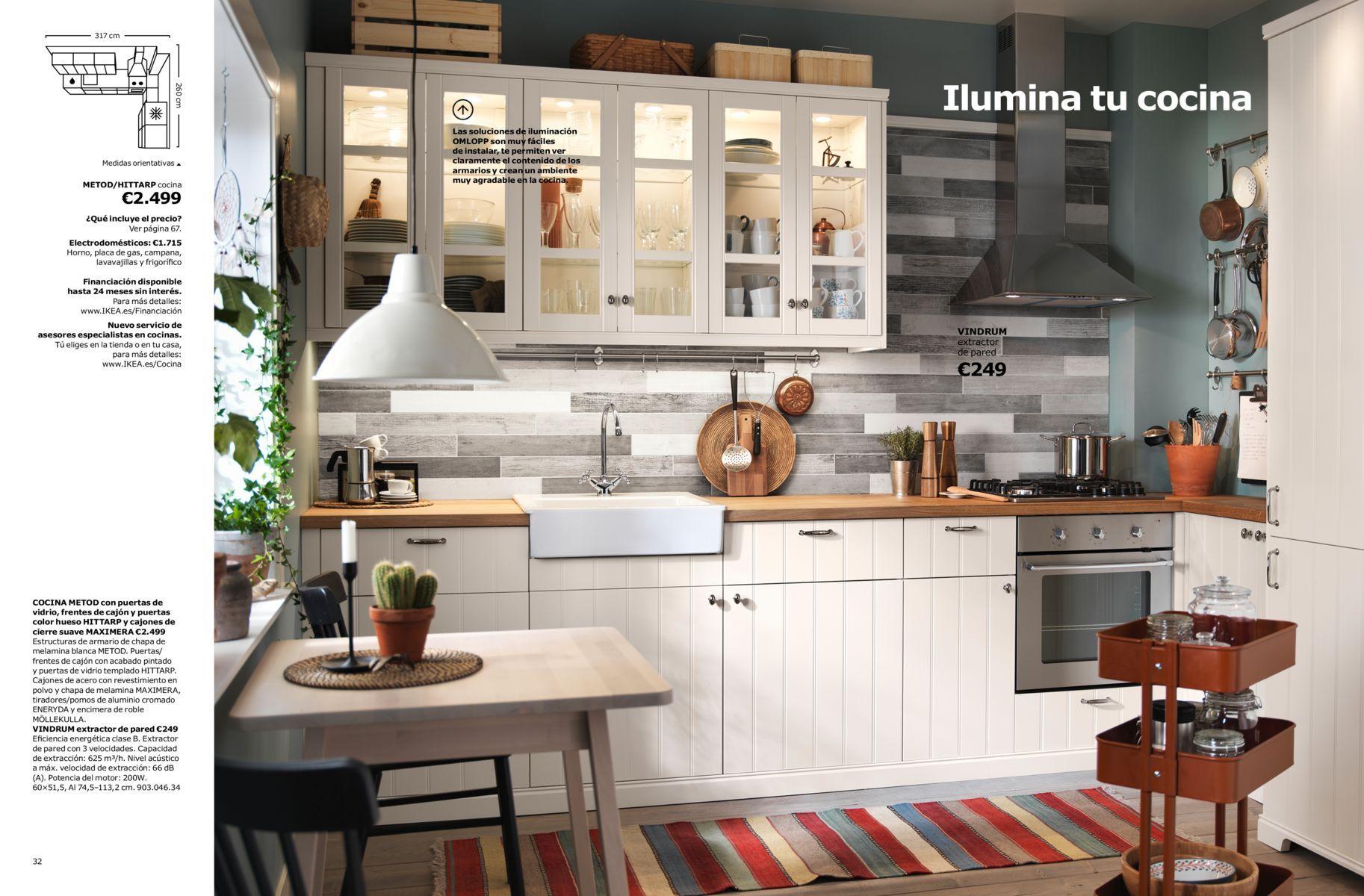 Cataleg De Cuines 2018 Cocina Ikea Mesa Para Cocina Pequena Diseno De Cocina
