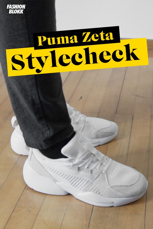UnboxingReviewamp; Dad On Sneaker Puma Ugly Zeta Weiß Suede Feet PikZXu