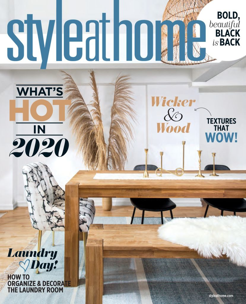 Style At Home Canada January 2020 Pdf Download Free House And Home Magazine House Styles Home Decor