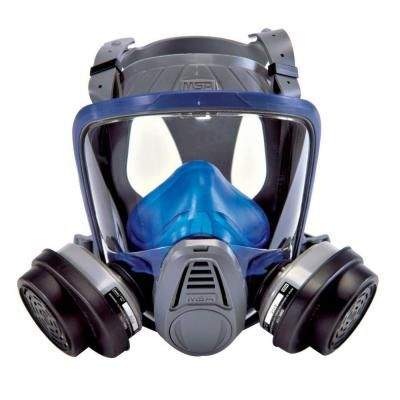 Msa Safety Works Paint And Pesticide Full Face Respirator 10041138