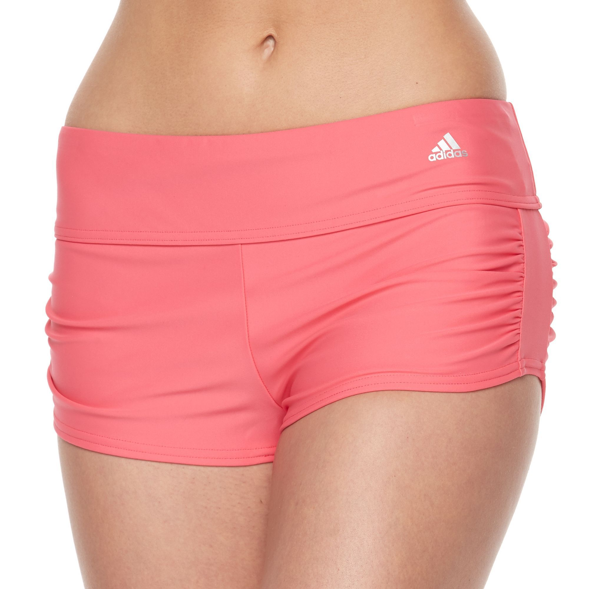 88c4930e36 Women's adidas Shirred Swim Shorts in 2019 | Products | Swim shorts ...