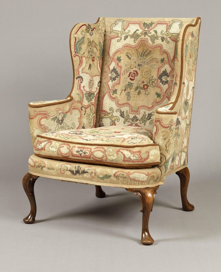 Superb A Pair Of Antique Wing Backed Armchairs In The Mid Georgian Manner Image 3