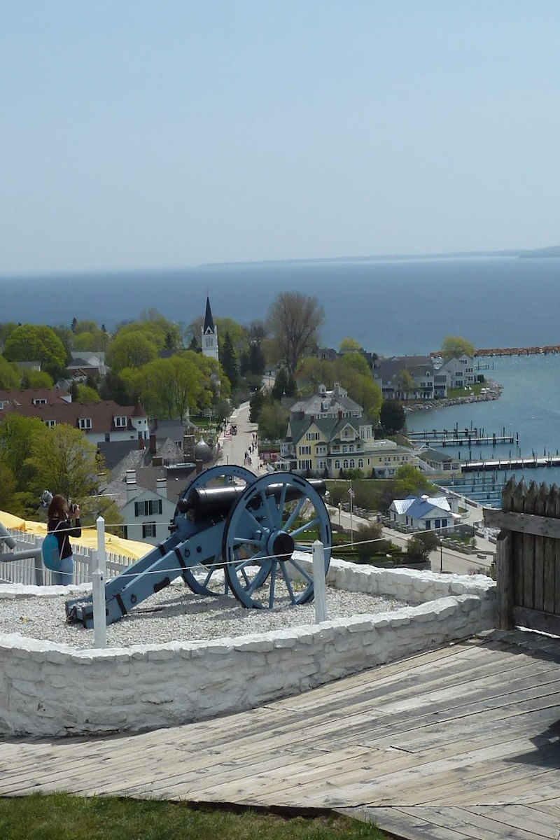 Travel | Michigan | Attractions | USA | Great Lakes | Amazing | Things To Do | Beautiful | Places To Visit | Historic | Waterfront | Destinations | Fort Mackinac | Family Fun | Waterfront | Vacations | Road Trips | Weekend Getaway | Day Trips | History | Small Towns | Bucket Lists