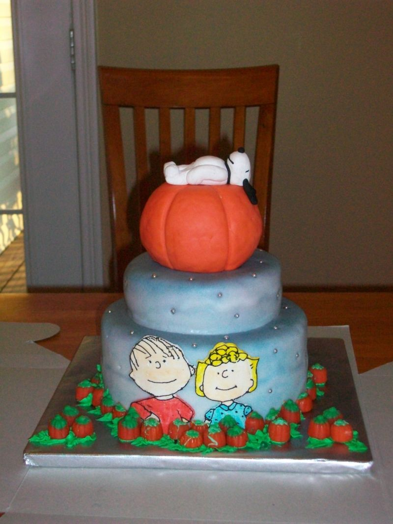 Great Pumpkin Halloween Party -- too extravagant, but I do love ...