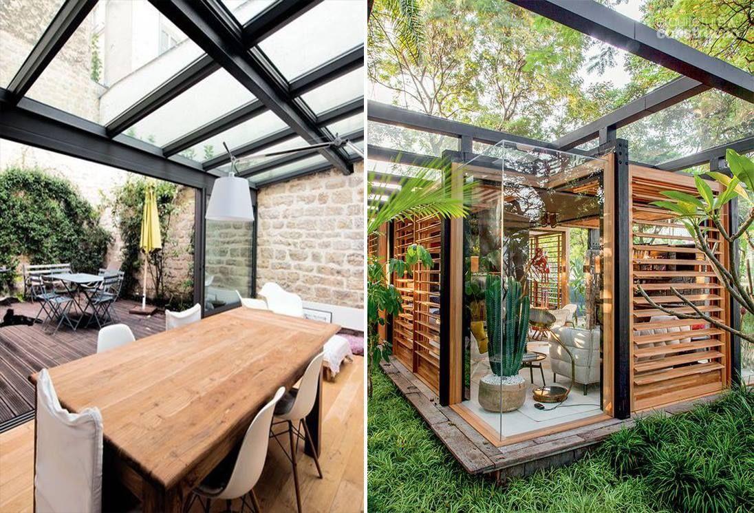 Toit de terrasse en Verre,Pergola Vitrée ou Véranda en Double vitrage ou Verre Feuilleté en 2019 ...