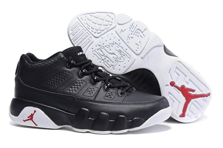 "27cbdb4555bb09 ... Buy Air Jordan 9 Retro Low ""Chicago"" Black White-Gym Red Cheap ..."