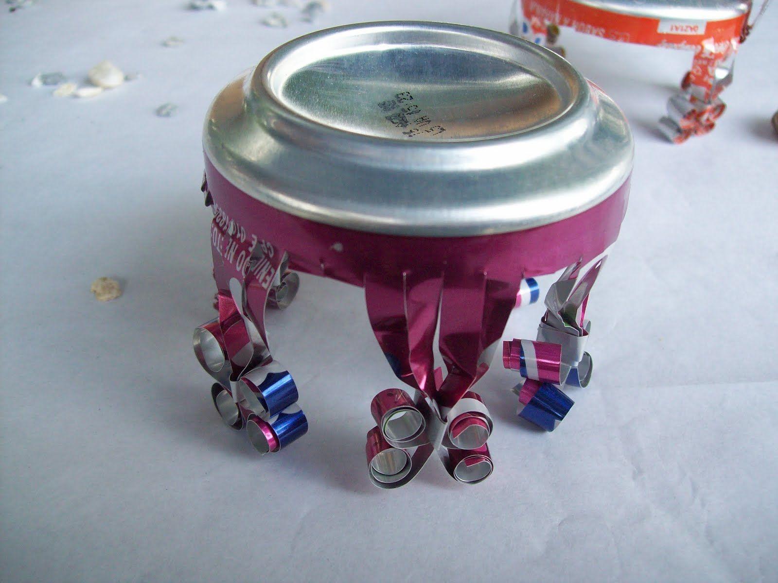 Manualidades con latas de refresco buscar con google - Manualidades faciles con latas ...