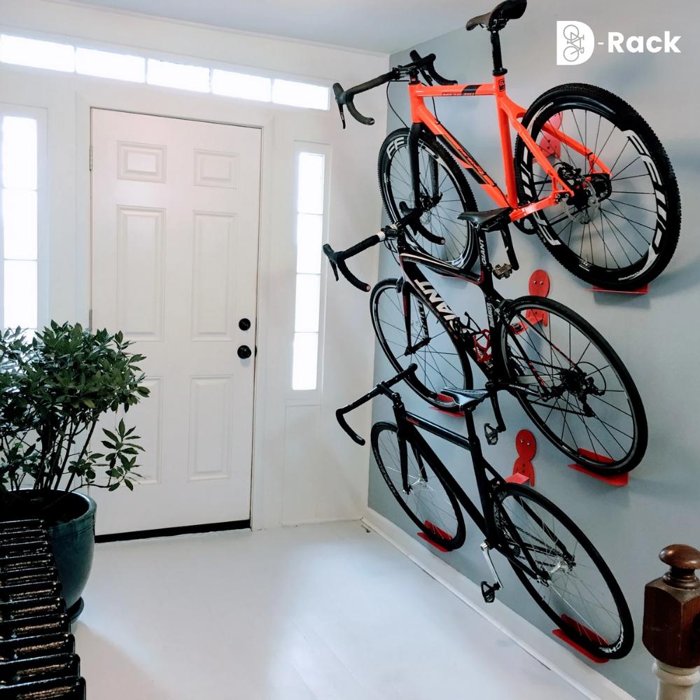 D Rack Optimiser Le Rangement De Ses Velos Drack Fr En 2020 Rangement De Velos Dans Un Garage Rangement Velo Appartement Suspension Velo