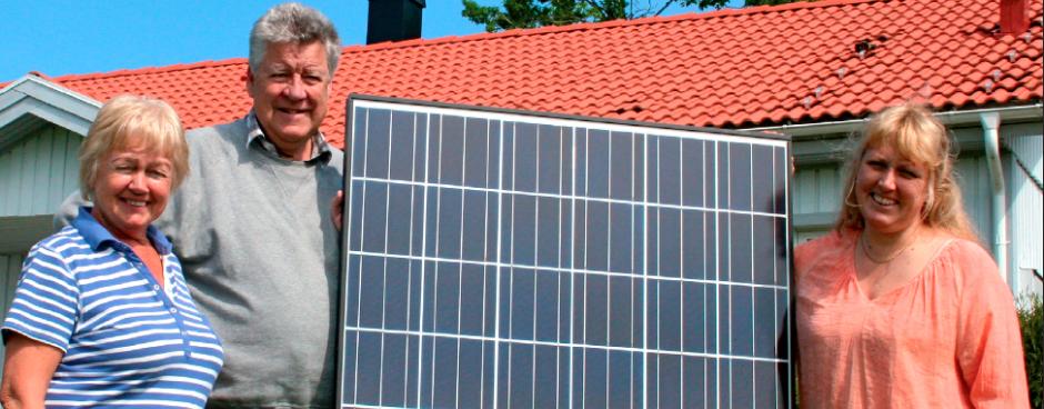 Villa Stallarholmen – Solceller 9 kW
