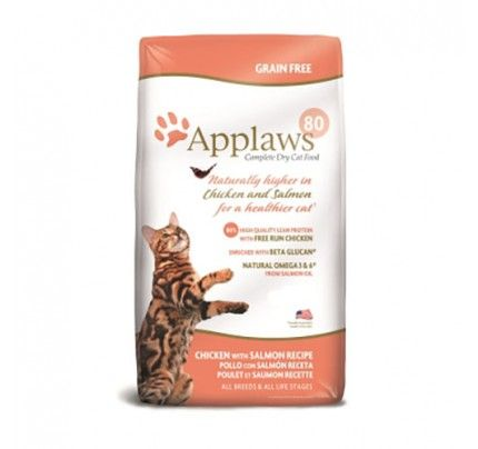 Applaws Complete Dry Cat Food Chicken With Salmon 15 43 Lb