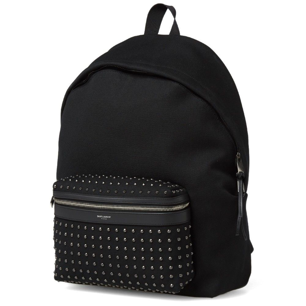 Saint Laurent Classic Hunting Stud Backpack Studded