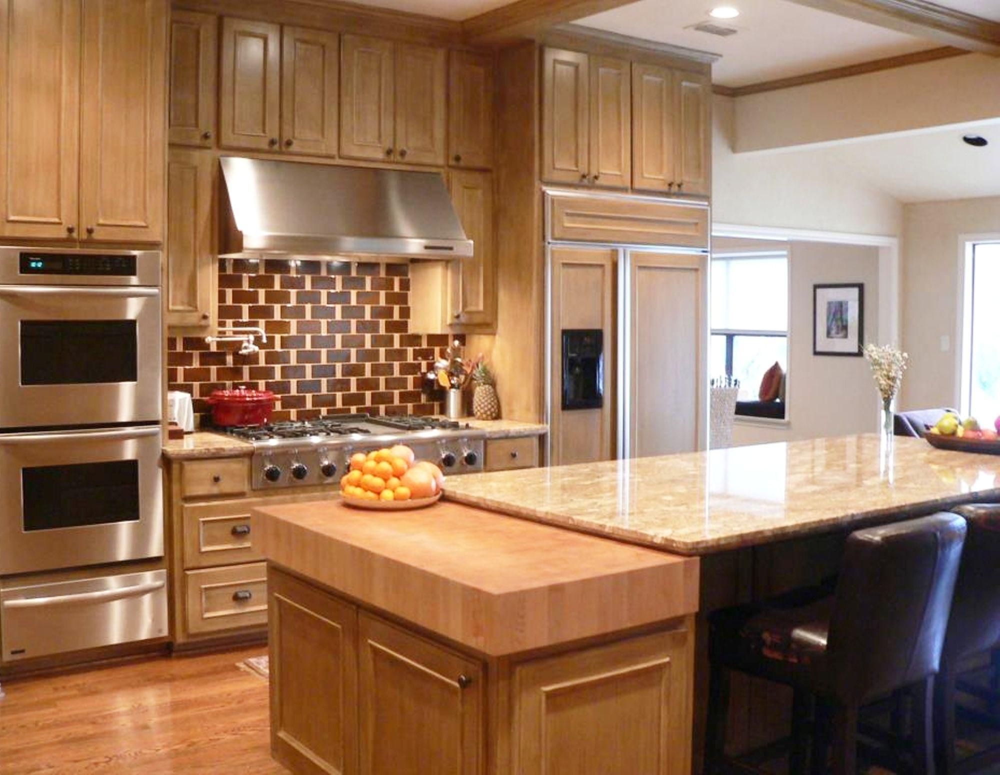 maple butcher block countertop kitchen backsplash countertops p
