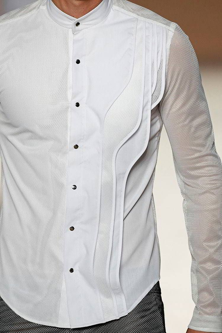 Shirt design gents - Miquel Suay Spring Summer 2017 080 Barcelona Fashion