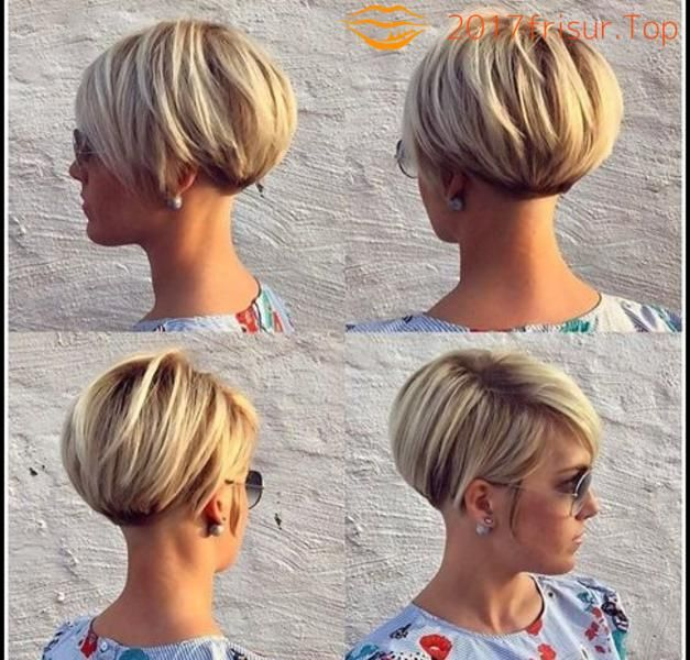Bob Frisuren 2018 Short Hair Preppy Haarschnitt Kurz Frisuren