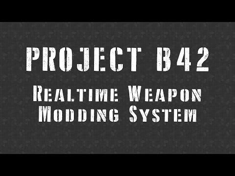 Realtime Weapon Modding System at Fallout New Vegas - mods