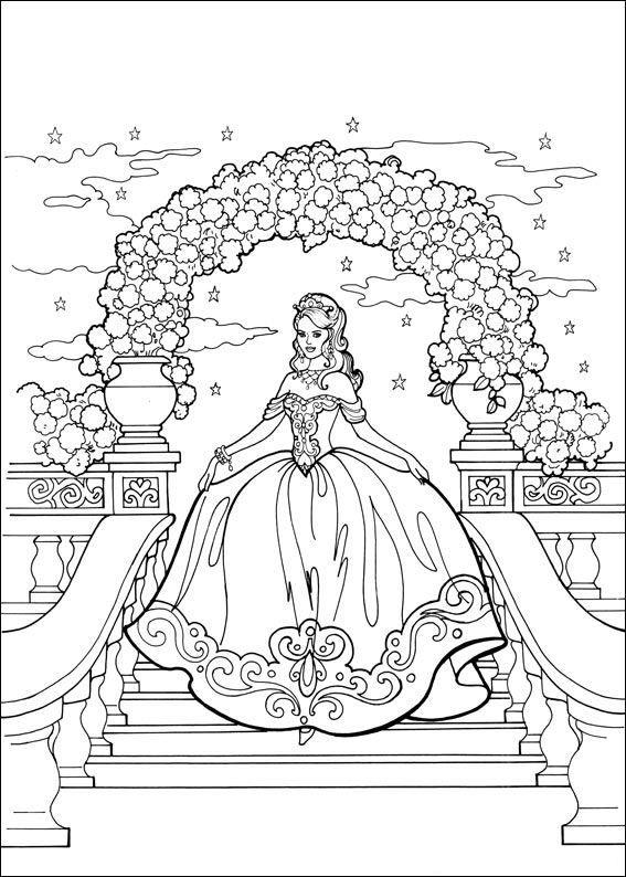 Kleurplaat Verjaardag 4 Prinses Leonora Kleurplaat Prinsesen Pinterest