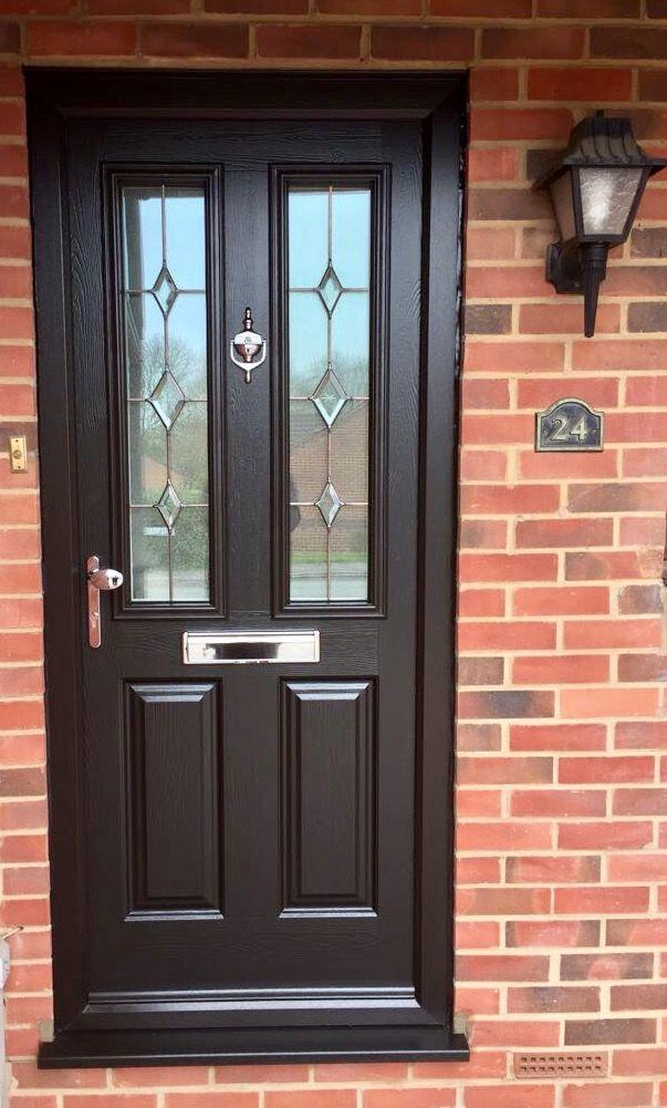 Endurance Door Etna Schwarz Braun Black Composite Door Sectional Garage Doors Front Door
