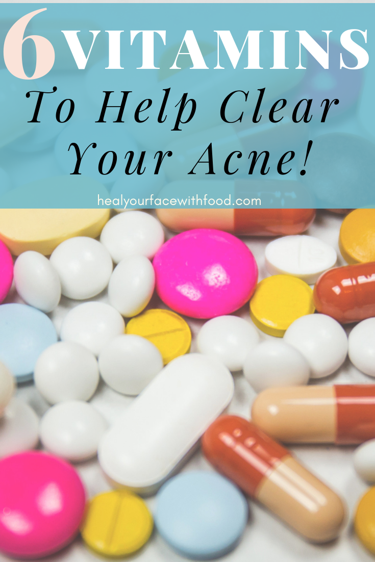 What vitamins are good for acne? Part 1 (With images