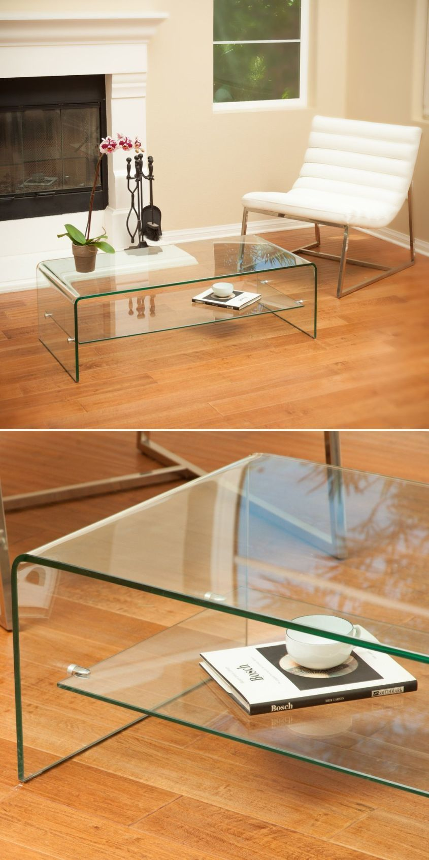 Amazing Two Tier Contemporary Mirrored Coffee Table Glass Top With Stainless Steel Bas Modern Square Coffee Table Square Glass Coffee Table Luxury Coffee Table [ 3072 x 4608 Pixel ]