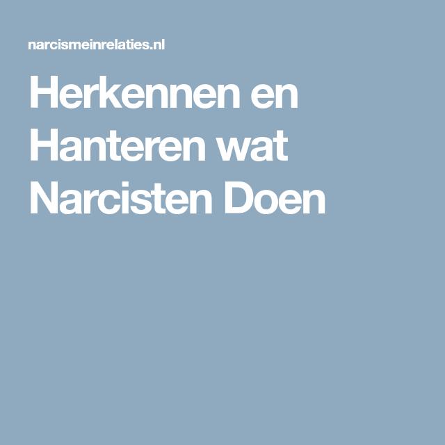 Herkennen en Hanteren wat Narcisten Doen | Narcist
