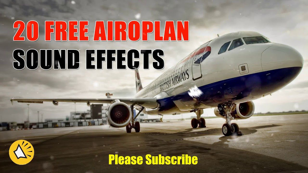 Aircraft Sound Effects Royalty free (HD) Aircrafts