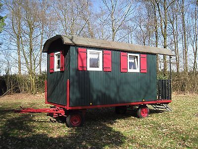 Zirkuswagen Bauwagen  Wohnwagen Schaustellerwagen