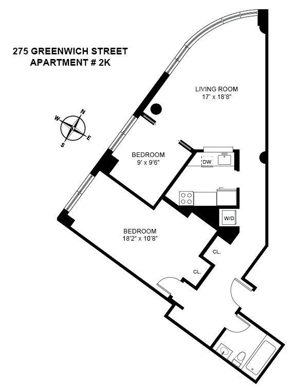 What 4 400 Month Can Rent You In New York City Small Apartment Renovation House Floor Plans Container House Design