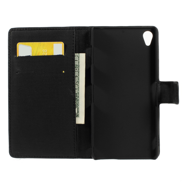 Mobilfodral Sony Xperia Z3 fjäril svart