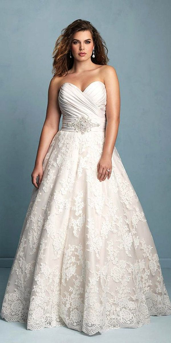 33 Plus-Size Wedding Dresses: A Jaw-Dropping Guide | Wedding dress ...