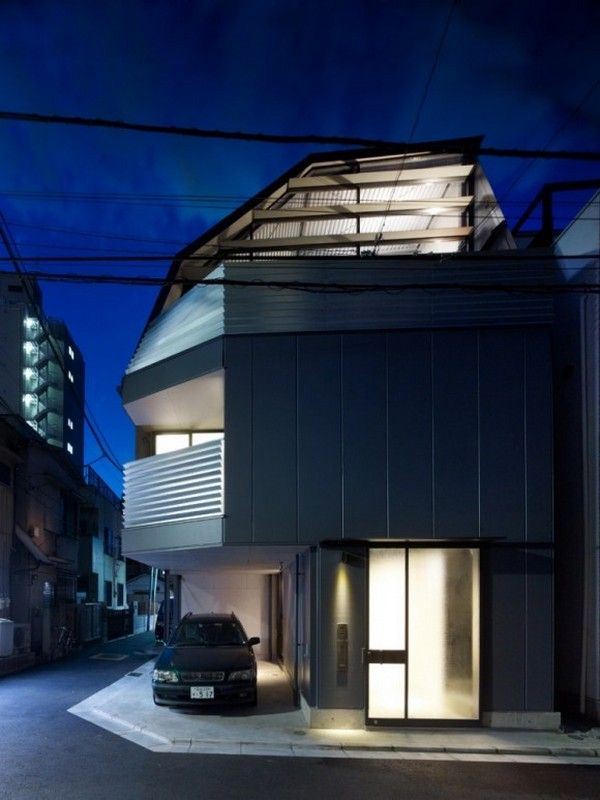 Contemporary japanese residence in tokyo mishima house
