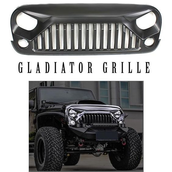 Accessories For Jeeps Jeep Wrangler Gladiator Grille Jeep